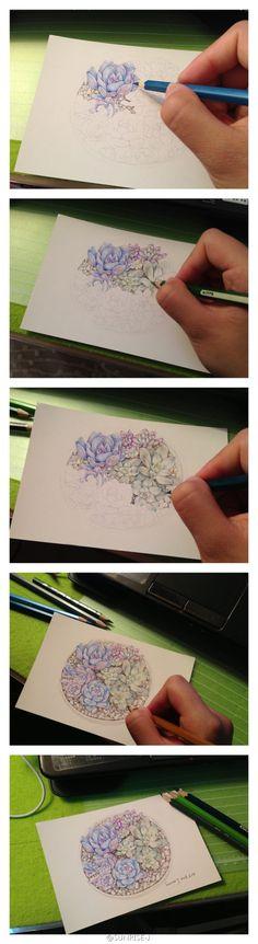 #手绘##...来自yuyu_门神Y的图片分享-堆糖