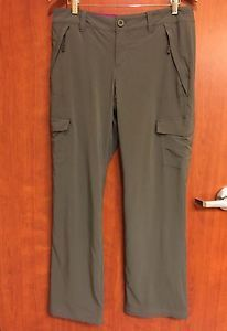 ☀NEW☀Eddie Bauer Flexion Gray Fleece Lined Winter Pants Women's 10 34 X 31.5"