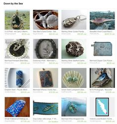 'Down by the Sea' by Melanie from PrettyYummy on Etsy.    Gorgeous work by some of the many talented artisans here on Vancouver Island in beautiful British Columbia, Canada.  http://www.etsy.com/treasury/OTY3NTIyNnwyNzIwOTAwMTcz/down-by-the-sea?ref=af_shop_tre