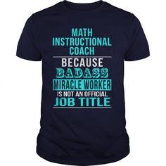 Math Instructional Coach T Shirts, Hoodies. Get it now ==► https://www.sunfrog.com/LifeStyle/Math-Instructional-Coach-Navy-Blue-Guys.html?57074 $22.99