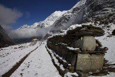 Mani wall Om Mani Padme Hum, Mountains, Illustration, Wall, Nature, Travel, Image, Viajes, Illustrations
