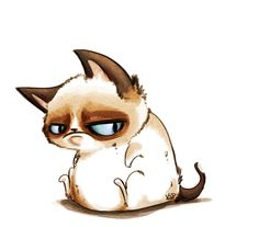 Grumpy Cat by kidbrainer on DeviantArt