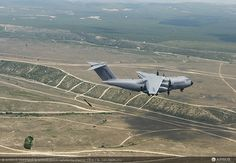 First paratrooping trials of the A400M - photo Airbus DS