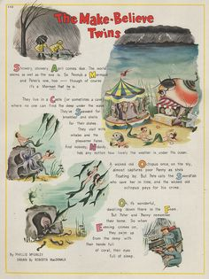 Mermaid poem/story from Ladies Home Journal, 1951.  Lovingly shared with YOU by The Agrarian Artist.