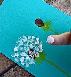 loewenzaehne-with-children Paint - DIY - Basteln mit Kindern - Kids Crafts, Summer Crafts, Toddler Crafts, Crafts To Do, Projects For Kids, Diy For Kids, Craft Projects, Arts And Crafts, Craft Ideas