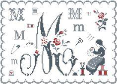 Fleurs de Lettre M                                                                                                                                                     Plus