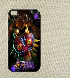 Legend Of Zelda Majoras mask Iphone 4 case,