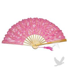 Small Pink Lace Hand Fan Buy Small Pink Lace Fan] : Wholesale Wedding Supplies, Discount Wedding Favors, Party Favors, and Bulk Event Supplies