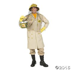 bee keeper costume free n fun halloween from oriental trading - Free Halloween Costume Catalogs