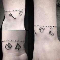 charm bracelet charm bracelet tattoo charm tattoo bracelet tattoos ...