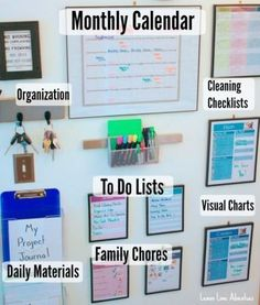 Command Center Must Haves | LOVE LOVE LOVE this organization for the family! #adoptionhomestudychecklist