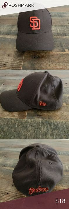 5944f17d6a2 Shop Men s New Era Orange Brown size OS Hats at a discounted price at  Poshmark. Description  vintage San Diego Padres baseball cap