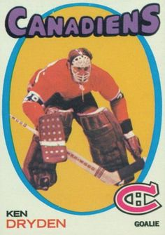 Detailed and Fast Loading Checklist Information for All Montreal Canadien Hockey Card Hits Hockey Goalie, Hockey Teams, Hockey Players, Ice Hockey, Goalie Gear, Hockey Stuff, Montreal Canadiens, Baseball Card Values, Baseball Cards