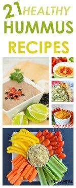 21 healthy hummus recipes