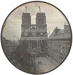 Cathédrale Notre-Dame de Paris en 1842