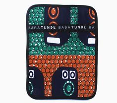 Tete ipad Sleeve Ipad Sleeve, Clutch Bag, Lunch Box, African, Bows, Shapes, My Style, Sleeves, Prints