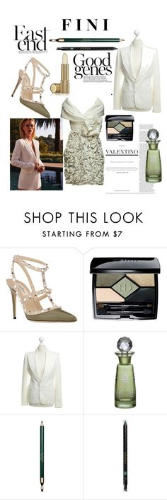 """""""Good Genes"""" by fini-i ❤ liked on Polyvore featuring Valentino, Christian Dior, Tom Ford, Cultural Intrigue, Clarins, Gucci and Estée Lauder"""