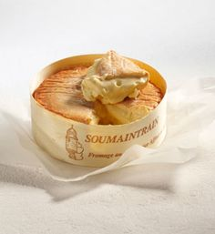 Soumaintrain - a super rich and creamy French cheese.  My favorite of the moment!