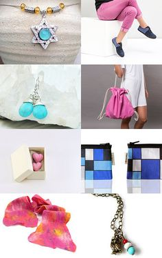blue   pink  by Agoraa Shop on Etsy--Pinned with TreasuryPin.com