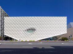 El nuevo museo de arte contemporáneo The Broad, un diseño eco-consciente