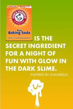 Raise your hand if you like making slide - raise both hands if you can't wait to make GLOW-IN-THE-DARK SLIME. Grab your ARM & HAMMER™ Baking Soda, and let's play. Get instructions and find more fun kids' projects here: Preschool Science, Science Experiments Kids, Science Activities, Science Projects, Fun Projects For Kids, Craft Activities For Kids, Art For Kids, Creative Crafts, Fun Crafts