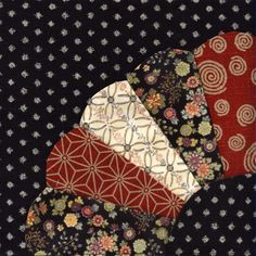 Julia's Place: Japanese Quilt Block # 1... Fan