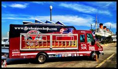 "Fire Captain & Chef Eddie Sell has created ""Firehouse Fusion Food"", making delicious gourmet street food that is hitting Southern California streets in March of 2012! Sandwiches, crisp & tasty salads, comfort finger foods & more will all be provided by the Firehouse Chefs food trucks!"