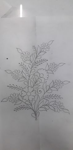 Hand Embroidery Design Patterns, Hand Embroidery Videos, Hand Work Embroidery, Embroidery Flowers Pattern, Zardozi Embroidery, Embroidery Motifs, Paisley Stencil, Hand Work Blouse Design, Beadwork Designs