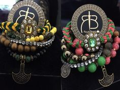 "RDB1 ""Green & Yellow"" spikes bracelet with charm by ROYAL BEAST DESIGN – JAANTE SHOWROOM  #royalbeastdesign #swissbrand #handmade #jewellery #madeinswitzerland #casual #chic #bracelet #ethnic #musthave #sustainable #jaanteshowroom #ecofriendly #pulsera Spike Bracelet, Handmade Jewellery, Spikes, Casual Chic, Showroom, Beast, Ethnic, Yellow, Birthday"