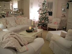 ~Shabby Pink Christmas~