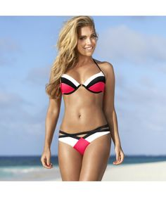 Sylvie Meis in Super-Hot Outfits Shoot Halter Bikini, Halterneck Bikini, Sexy Bikini, Bikini Girls, Bikini Beach, Bikini 2014, Hot Outfits, Summer Outfits, Celebrity Pictures