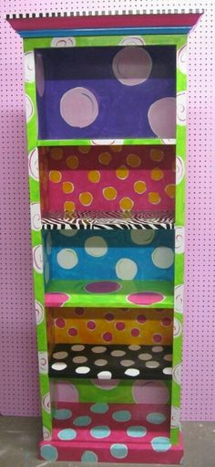 Would love to do this in zebra and hot pink to match Amiahs room.