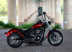 Dyna street bob big radius pipes