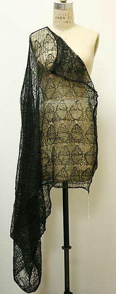 Comme des Garçons (Japanese, founded 1969). Dress, 1987. Designer: Rei Kawakubo (Japanese, born 1942). Japanese. The Metropolitan Museum of Art, New York. Gift of Susan K. Manno, 2005 (2005.173.16) #punkfashion