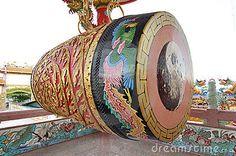 Big old chinese drum