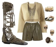 """""""Earth Mama"""" by creativelycandice on Polyvore featuring Free People, adidas Originals, Givenchy, Alex and Ani, Lucifer Vir Honestus, Haute Hippie, women's clothing, women, female and woman"""