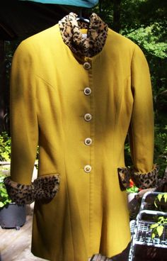 vintage Michael Luisi wool and cashmere jacket by susiestratford