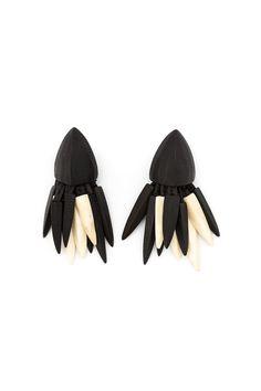 {Monies / 03 jewelry / 02 earring} Shard Cluster Clip On Earrings