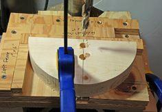 Wood/PVC Chucks Woodturning Tools, Lathe Tools, Wood Turning Lathe, Wood Turning Projects, Woodworking Techniques, Woodworking Projects, Wood Lathe Chuck, John Wood, Homemade Tools