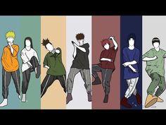 Naruto boys dance ⚡ Live wallpaper ⚡