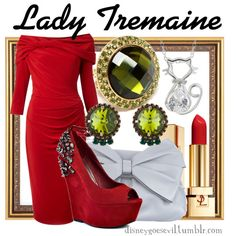 """""""Lady Tremaine"""" by disney-villains on Polyvore"""