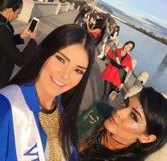 Andrea  Rosales Miss Venezuela, en Austria representando al país en el Miss Earth 2015..