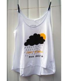 'Rain Likely' Tencel Vest for Women