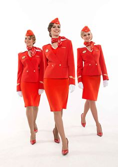 Flight Attendant Uniforms That Make Fashion Statements - Air France Tops Our List