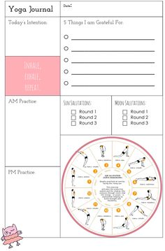 Free Yoga Printable Journal