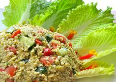 """Ethiopian couscous from """"Food to Live For!"""" by Eric Rivkin, available for purchase at www.vivalaraw.org #lowfatrawvegan #recipes #vegan #rawfood"""