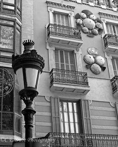 Barcelona Building Facade