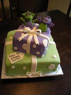 Barney Birthday Cake Barney Birthday And Birthday Cakes