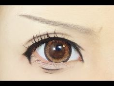 Tutorial : Anime Eye Makeup 55 • Sasha Blouse