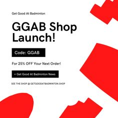 The Get Good At Badminton Shop has launched! Learn more in the link Badminton Shop, Product Launch, Coding, Social Media, Learning, News, Shopping, Link, Check